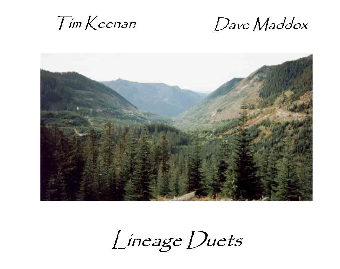 Lineage Duets cd Cover / Link to Critic's Choice