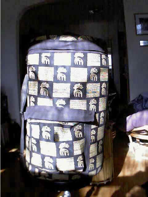 Picture of a Custom made Sangban bag with Nimba on pattern