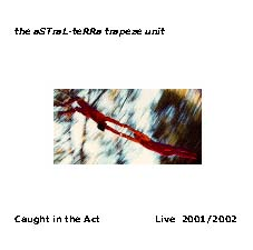 Trapeze: Caught in the Act cd cover